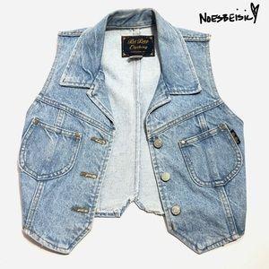Vintage BeBop Kids Jean Vest